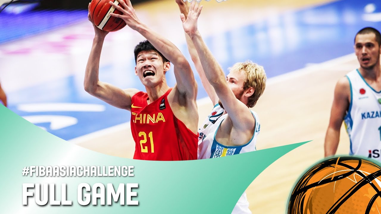 Kazakhstan v China - Full Game - FIBA Asia Challenge 2016