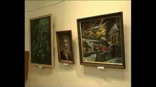 видео Картины Рериха в Горловском художественном музее