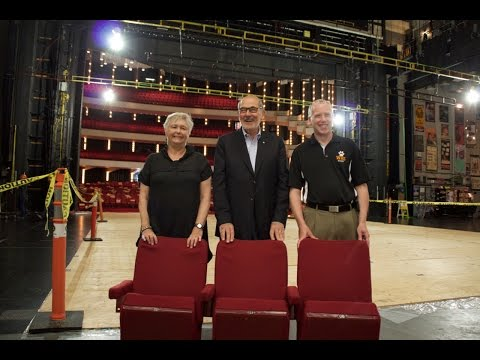 Southam Hall seats donated to three theatres