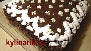 Шоколадный БИСКВИТНЫЙ торт! Рецепт с творожным кремом от kylinarik.ru(ТОРТЫ! Рецепт: Шоколадный БИСКВИТНЫЙ торт с ТВОРОЖНЫМ кремом! Этот рецепт торта украсит Ваш праздничный..., 2013-02-24T20:49:34.000Z)