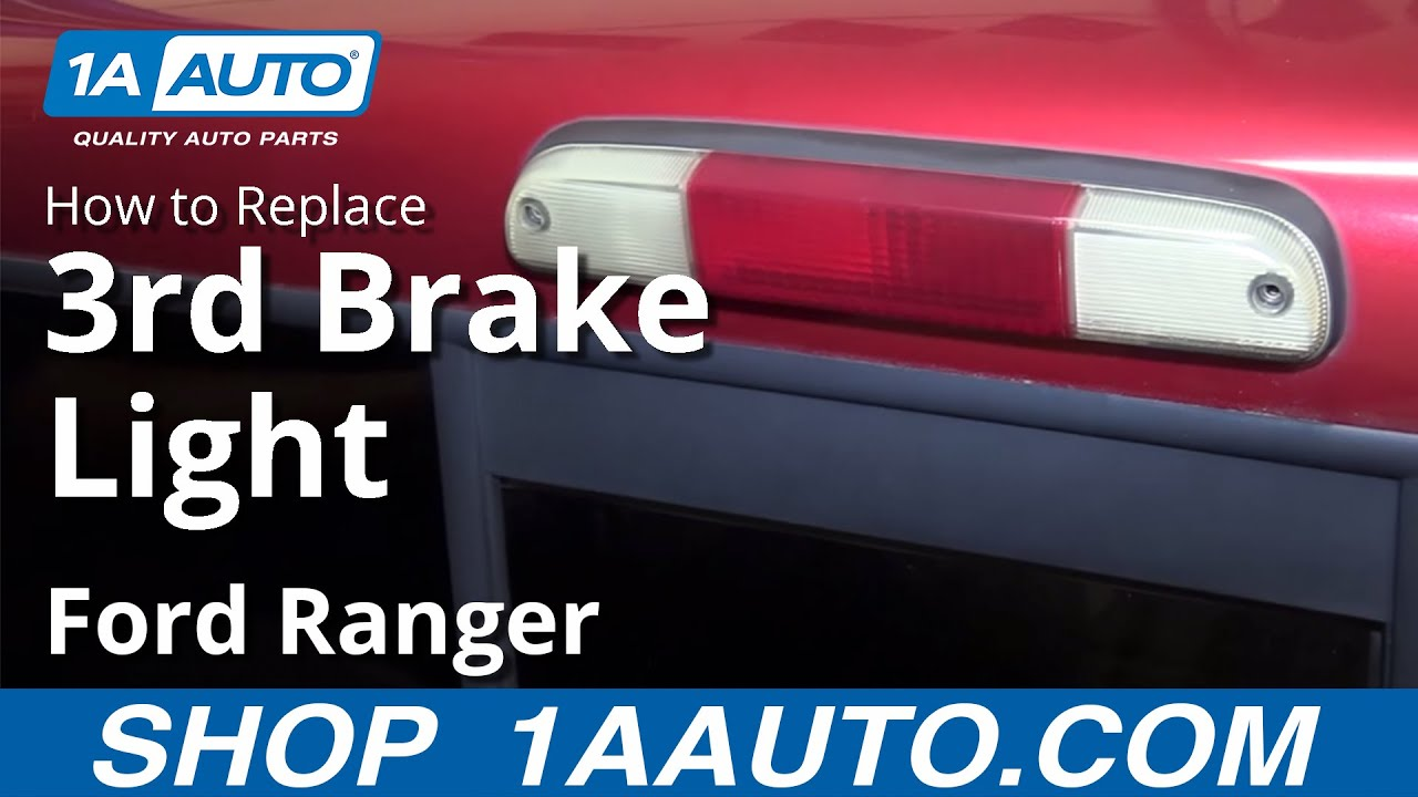 How to Install Replace Third Brake Light and Bulbs 199503