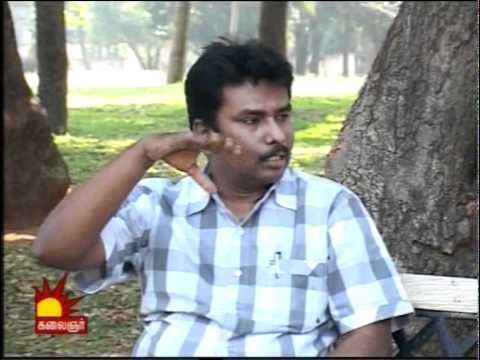 Thabu Shankar Interview Santhitha Velai Kalaignar Tv PART-1