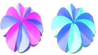 How To Make Paper Flower || DIY Paper Flower Tutorial || Crafts Design