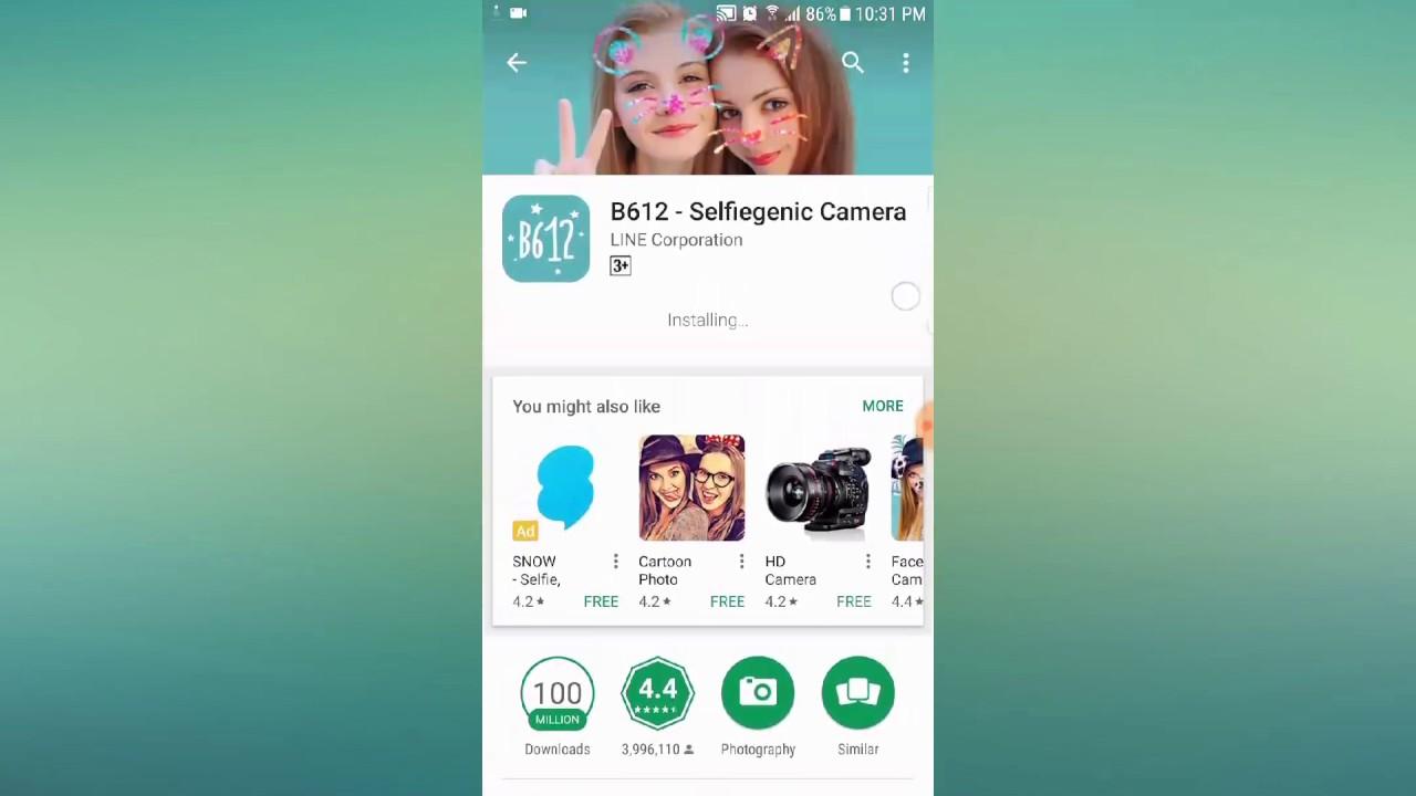 Download Camera B612 - Tải Camera B612 để tự sướng - YouTube