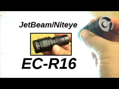 Jetbeam Niteye EC-R16 Light Review, 2.75 inches, 750 LM