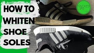 How to whiten shoes soles