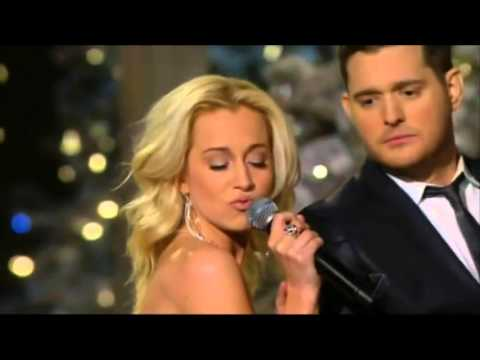 Michael Buble & Kelly Pickler - White Christmas