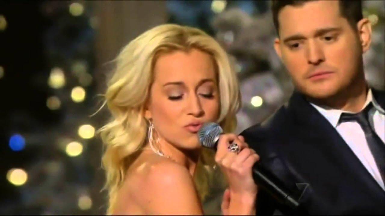 Michael Buble & Kelly Pickler - White Christmas - YouTube