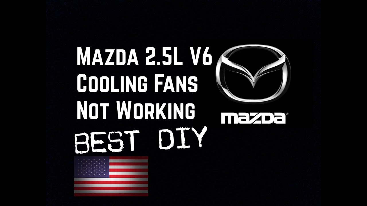 93 02 Mazda 25l V6 Ac Cooling Fans Not Working Bundys Garage 1998 626 Fuse Box