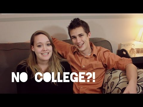 WHY WE DIDN'T GO TO COLLEGE! | Get To Know Us