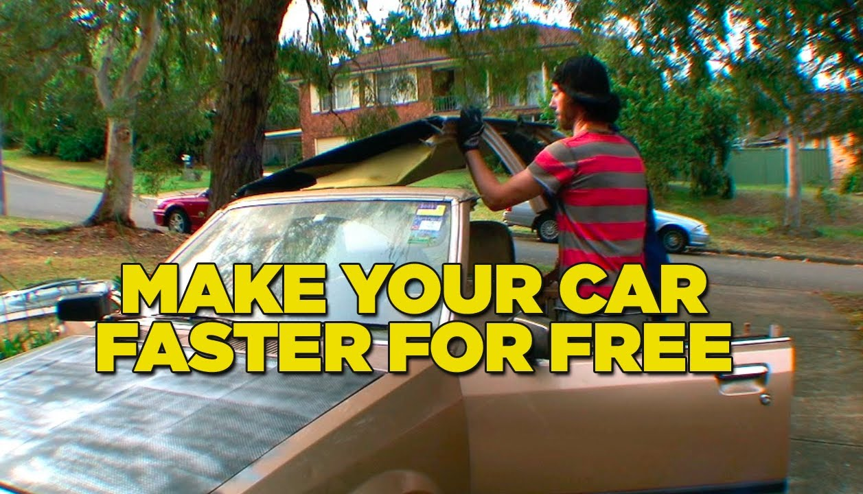 Make Your Car Faster For Free