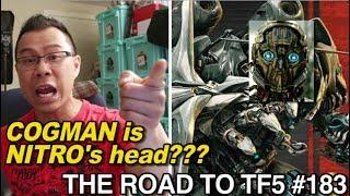 Cogman rips off Decepticon Nitro's head?? - [THE ROAD TO TF5 #183]