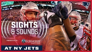 Patriots Mic'd Up vs. Jets (Week 7) | Sights and Sounds