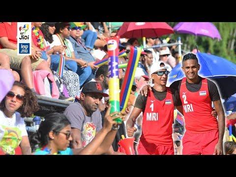 JIOI 2019 - Beach-Volley: «Nou ena responsabilité ramenn meday lor»