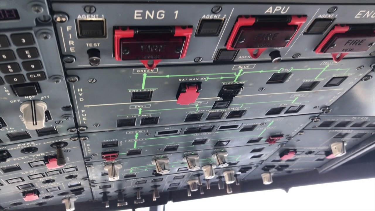 A320 Cockpit Views