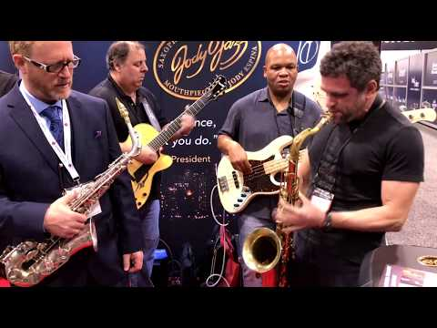 Watermelon Man feat. Andy Snitzer @ Jody Jazz NAMM 2018 (Smooth Jazz Family)