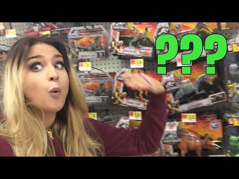 Vlog - Oregon Walmart Jurassic World Toys