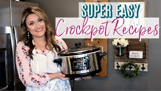 EASY & DELICIOUS SLOW COOKER RECIPES | Cook Clean And Repeat