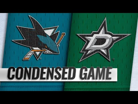 11/08/18 Condensed Game: Sharks @ Stars