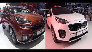 All new Kia Sportage 2016, 2017 Kia KX3 VS Kia KX5