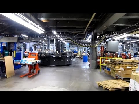 Exclusive: Tour of the Roanoke Times Printing Facility!