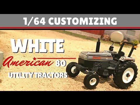 1/64 Customizing: White American 80 Utility Tractors