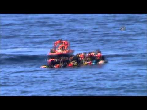 Turkish Coast Guard rescued 1568 migrants in Aegean Sea