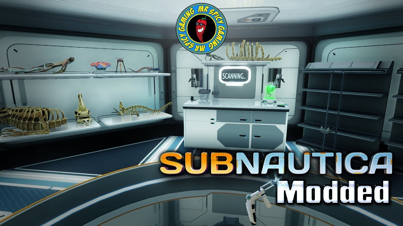 building a research lab subnautica modded ep6 youtube