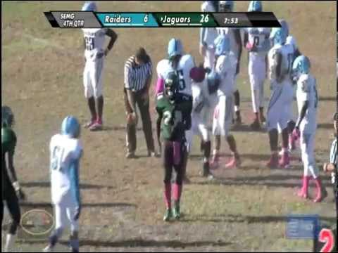 Charles H. Flowers High School Jaguars vs. Eleanor Roosevelt High School Raiders