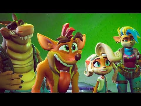 Crash Bandicoot 4: It's About Time – Final Boss + Ending