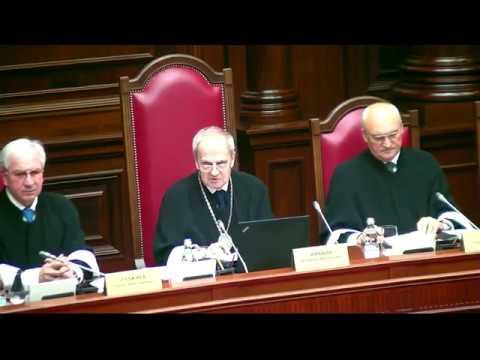 Заседание конституционного суда 28 мая 2019 года