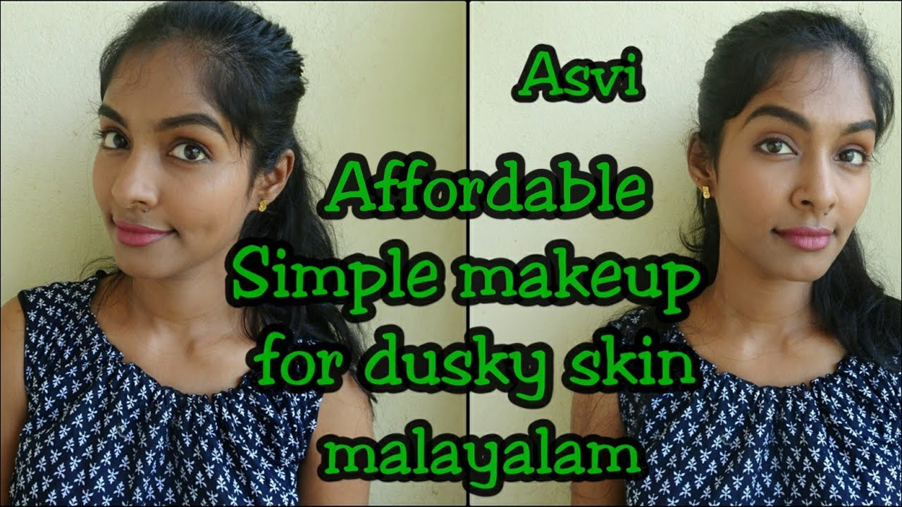 Malayalam Makeup Simple Easy Affordable Everyday Makeup Look