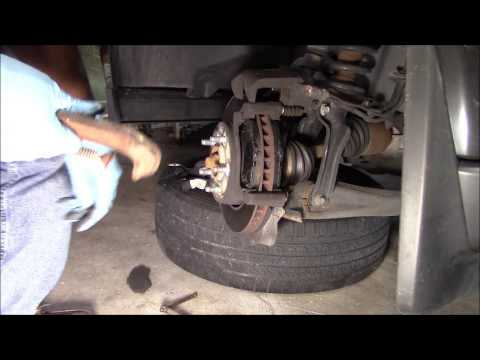 2010 Dodge Nitro Disk Brake Pads Replacement Youtube
