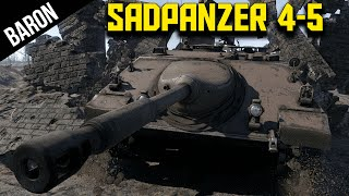 Jagdpanzer 4-5?  More Like Sadpanzer, amirite!  War Thunder 1.53