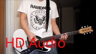 Ramones – I Wanna Be Well - LIVE (Guitar Cover REMAKE), Barre Chords, Downstroking, Johnny Ramone