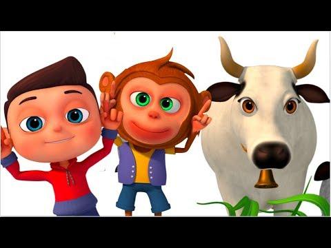 Ye Hai Gaiya - Cow Song In Hindi - Hindi Rhymes For Children- Minnu & Mintu Hindi Rhymes - Videogyan