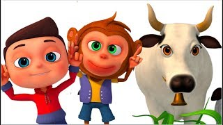 Ye Hai Gaiya - Cow Song In Hindi - Hindi Rhymes For Children- Minnu & Mintu Hindi Rhymes - Videogyan
