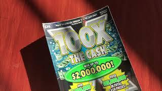 New $20 100X the Cash - Michigan Lottery - 12/9/18
