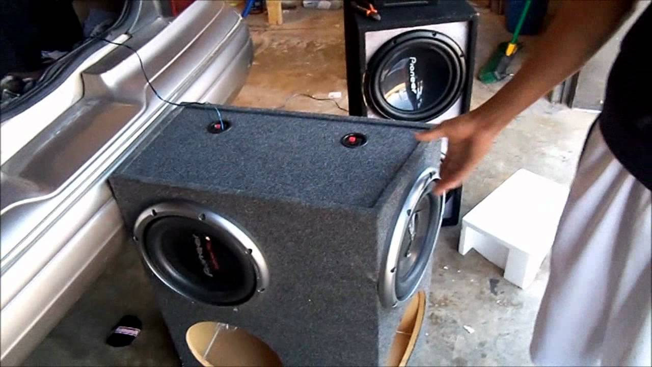95 U0026 39  Grand Marquis On 28s  U0026quot Sound System Upgrade Again