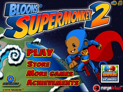Bloon Dunes - Bloons Super Monkey 2