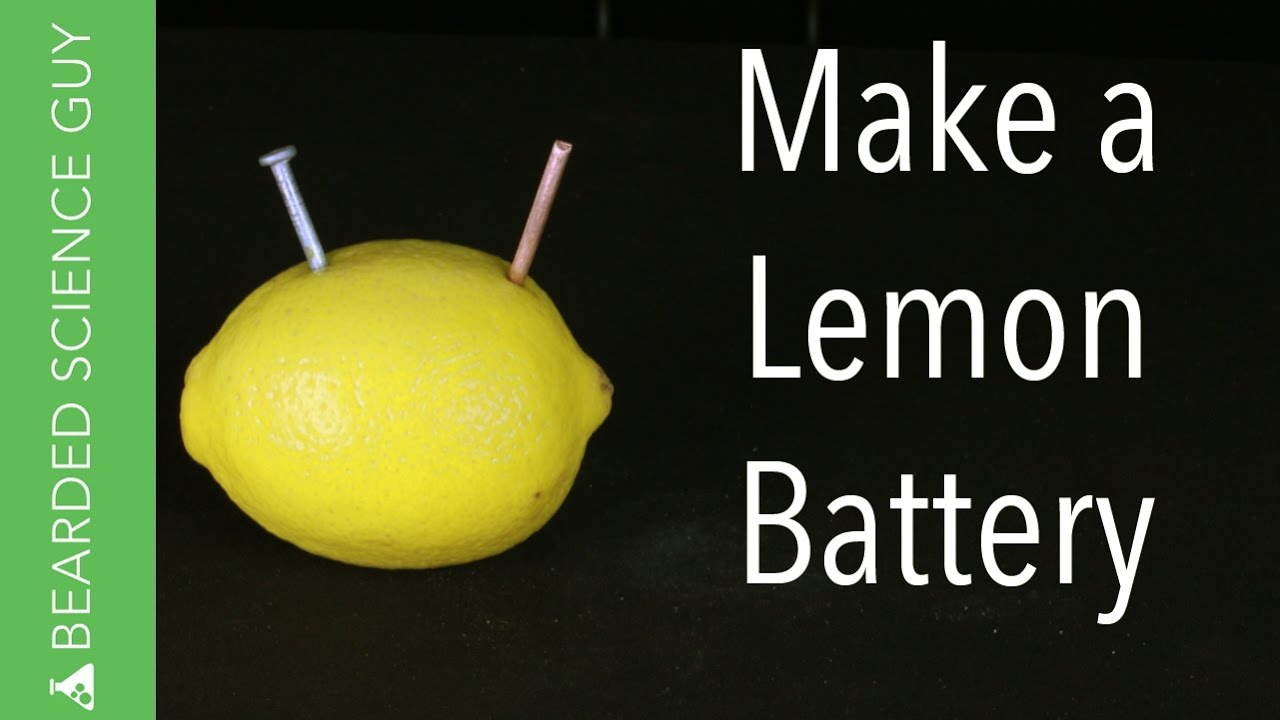 How To Make A Lemon Battery Youtube Simple Circuits For Kids Hqdefaultjpg