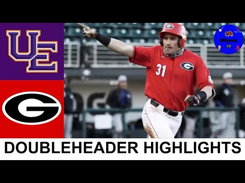 Download Evansville vs Georgia Highlights (Games 2 & 3) | 2021 College Baseball Highlights