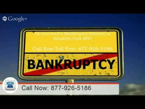 Brooklyn Park MN bankruptcy attorney | Call NOW: 855-401-1101