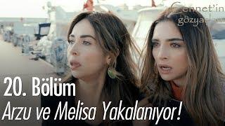 Arzu ve Melisa yakalanıyor! - Cennet