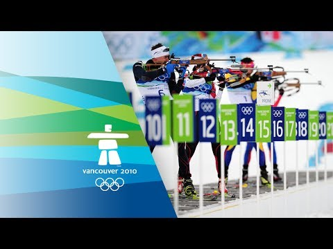 Men's Biathlon 10Km Sprint Highlights Vancouver 2010 Winter Olympic Games