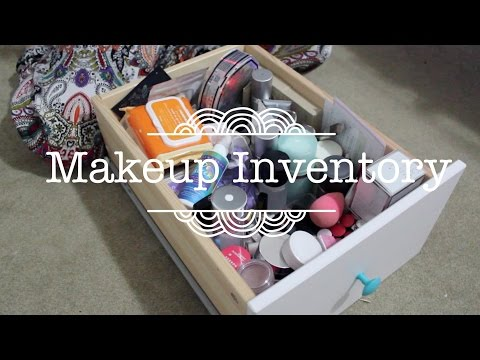 Makeup Inventory // Skincare Collection Declutter