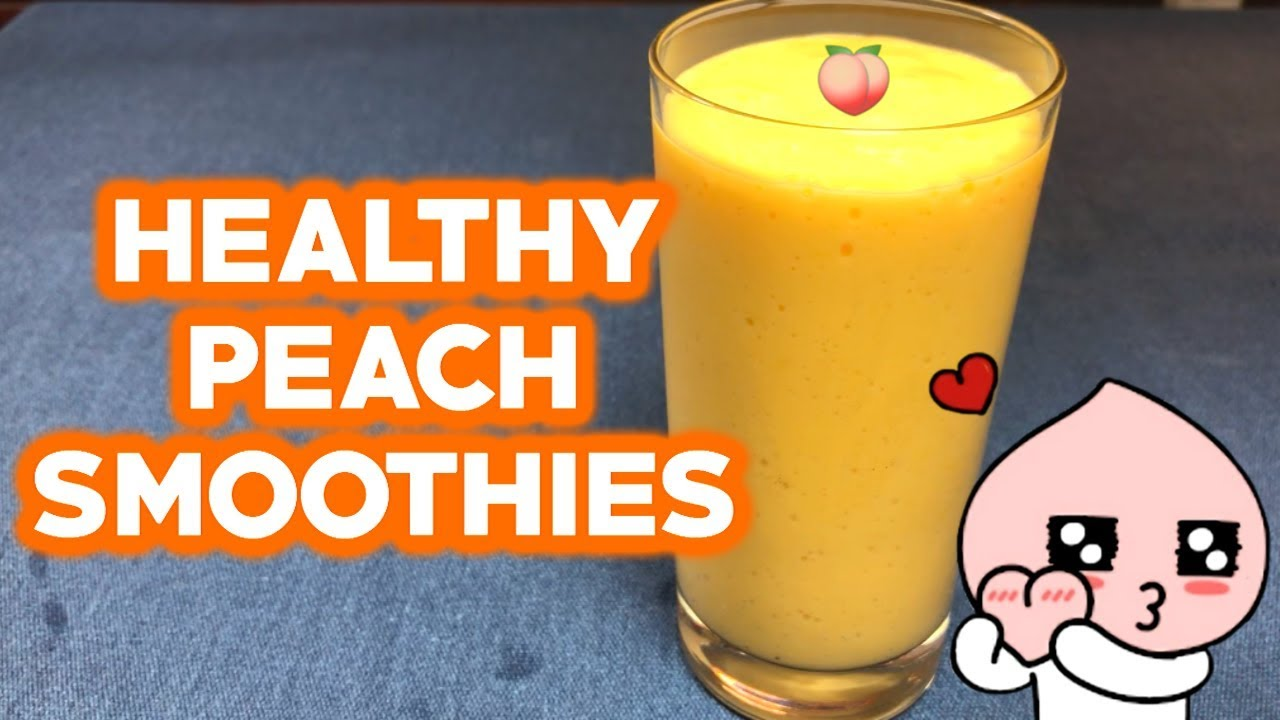5 Healthy Peach Smoothies For Weight Loss - Easy Recipes