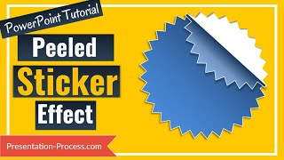 How to create Peeled Sticker Effect in PowerPoint Easily