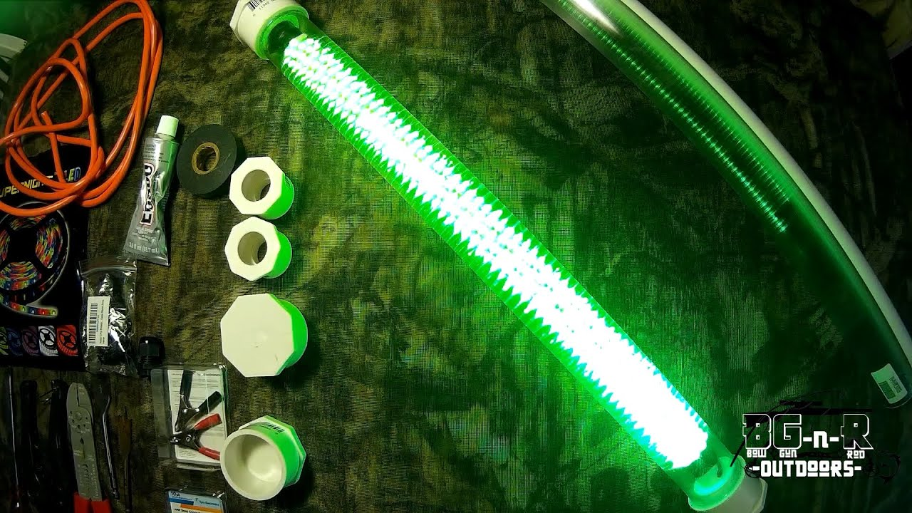 diy homemade 600 led fishing lights for cheap!! part3 - youtube, Reel Combo