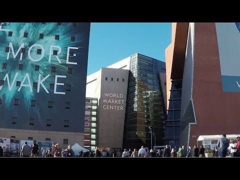 World Market Center  Winter | Las Vegas Convention Photographer | Christian Purdie Photography